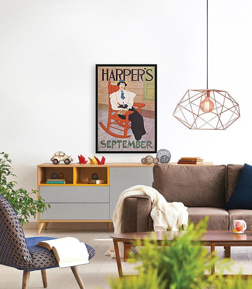 Harpers September  Art