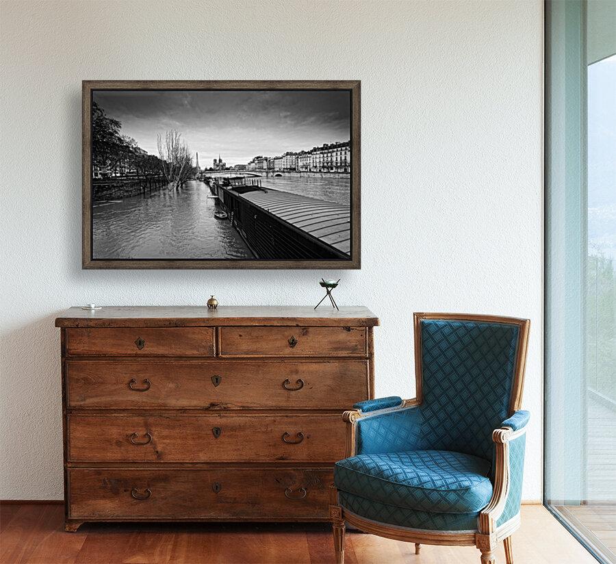 Flood in Paris  Art