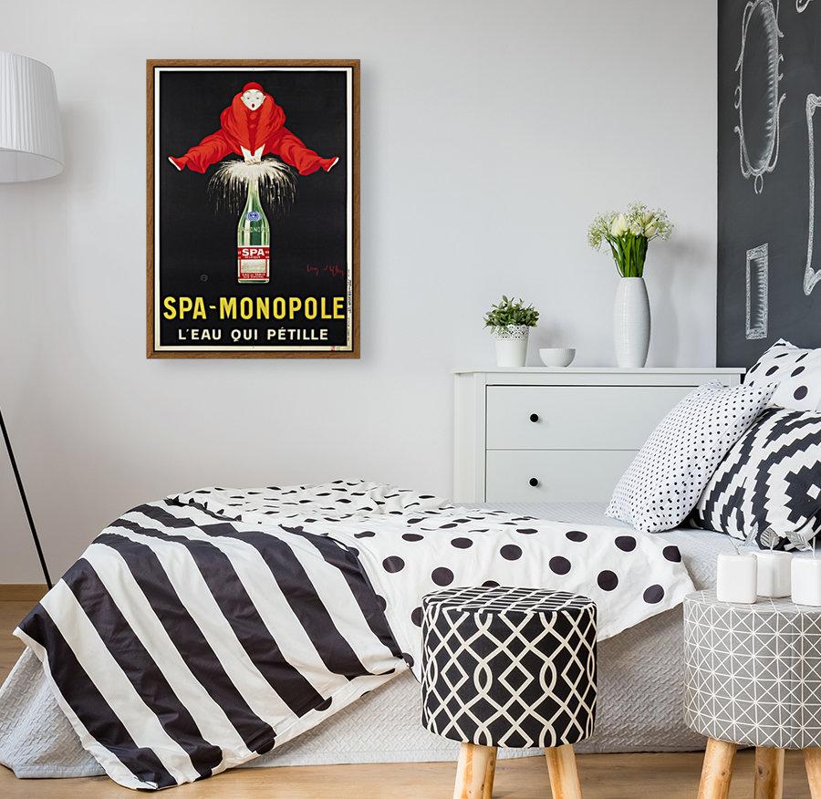Spa-Monopole - Leau qui petille  Art
