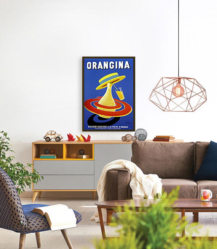 Orangina Vintage Poster  Art