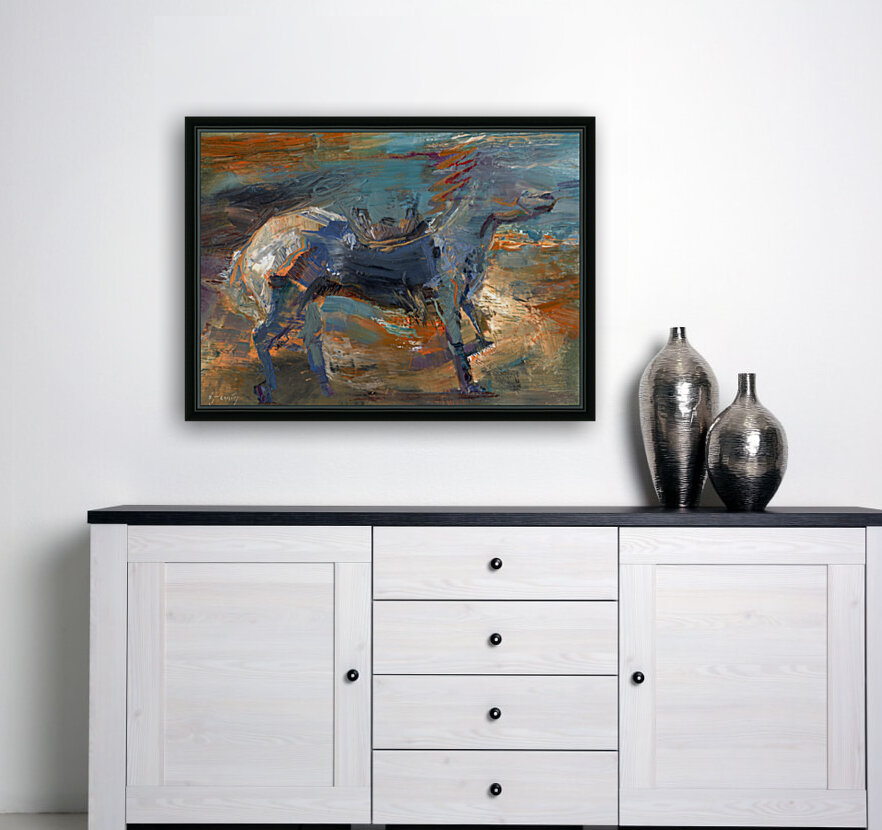 Ghost Rider - Titian  Art
