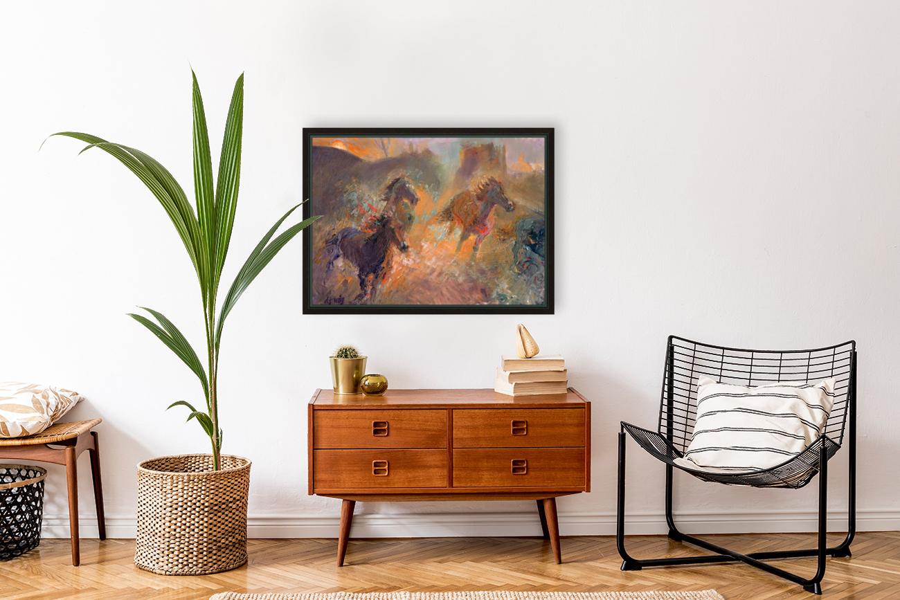 Wild Horses Sun Dust  Art