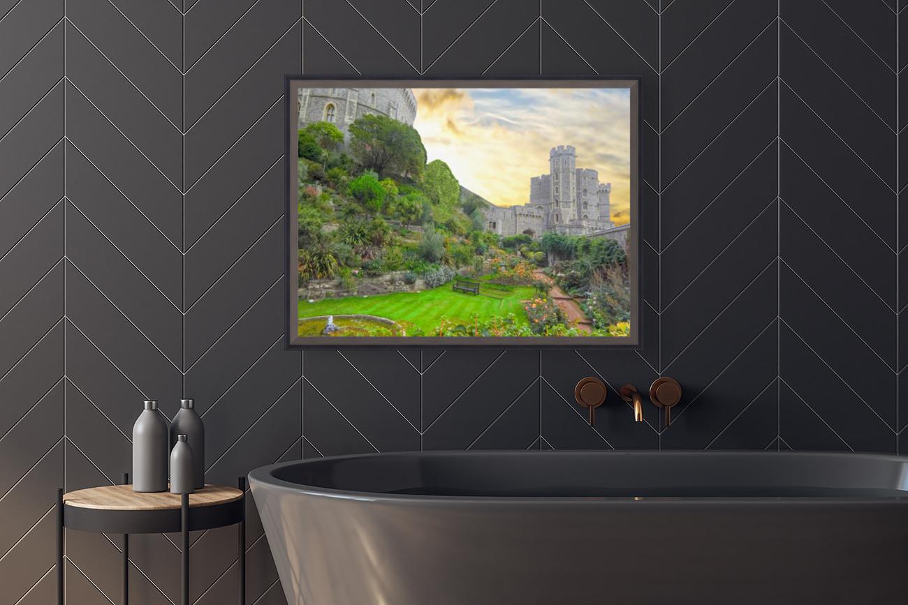 Windsor Castle at Sunset  Art