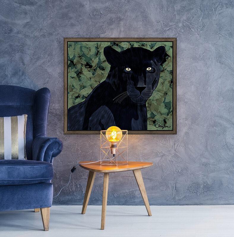 Black Jaguar. Clayton T  Art