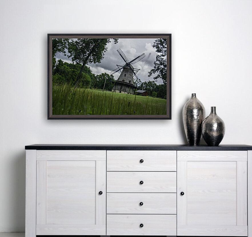 Windmill in a Storm  Art