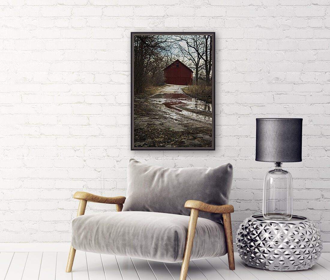 Travel to the Red Barn  Art