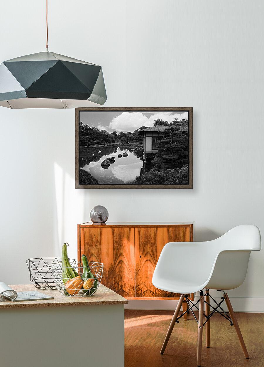 Black White Pond  Art