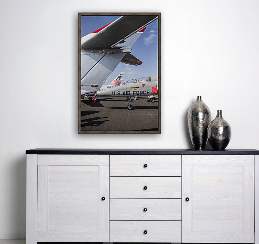 A Line of Planes  Art