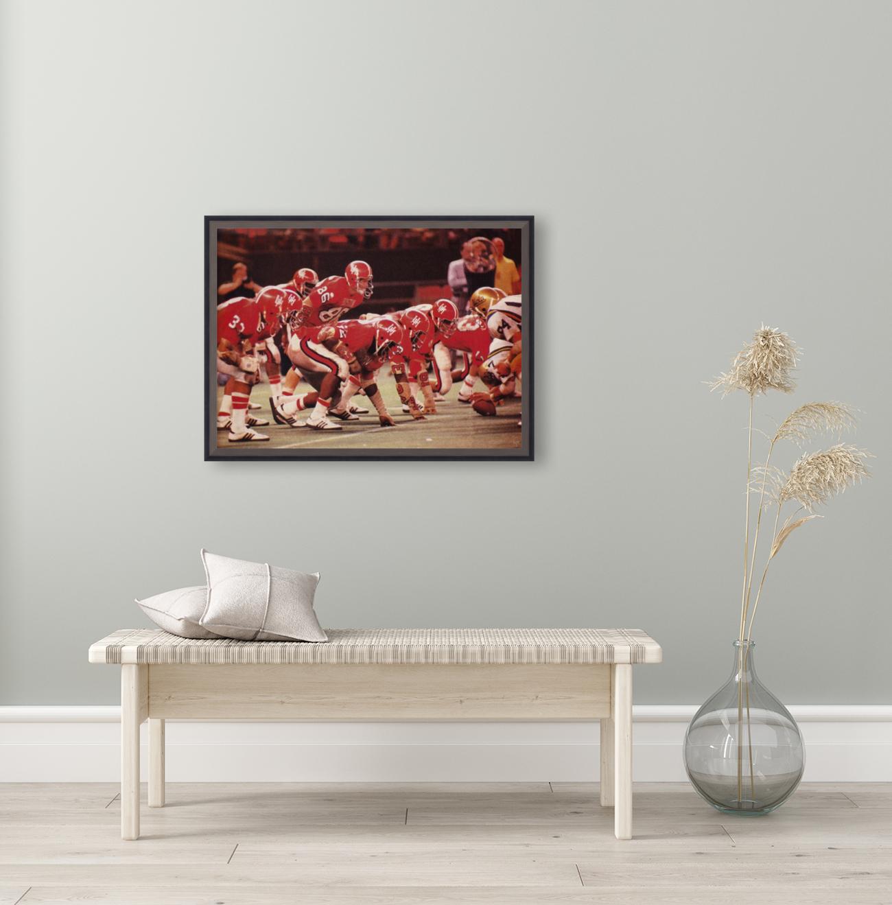 1977 UCLA vs. Houston Football Action  Art
