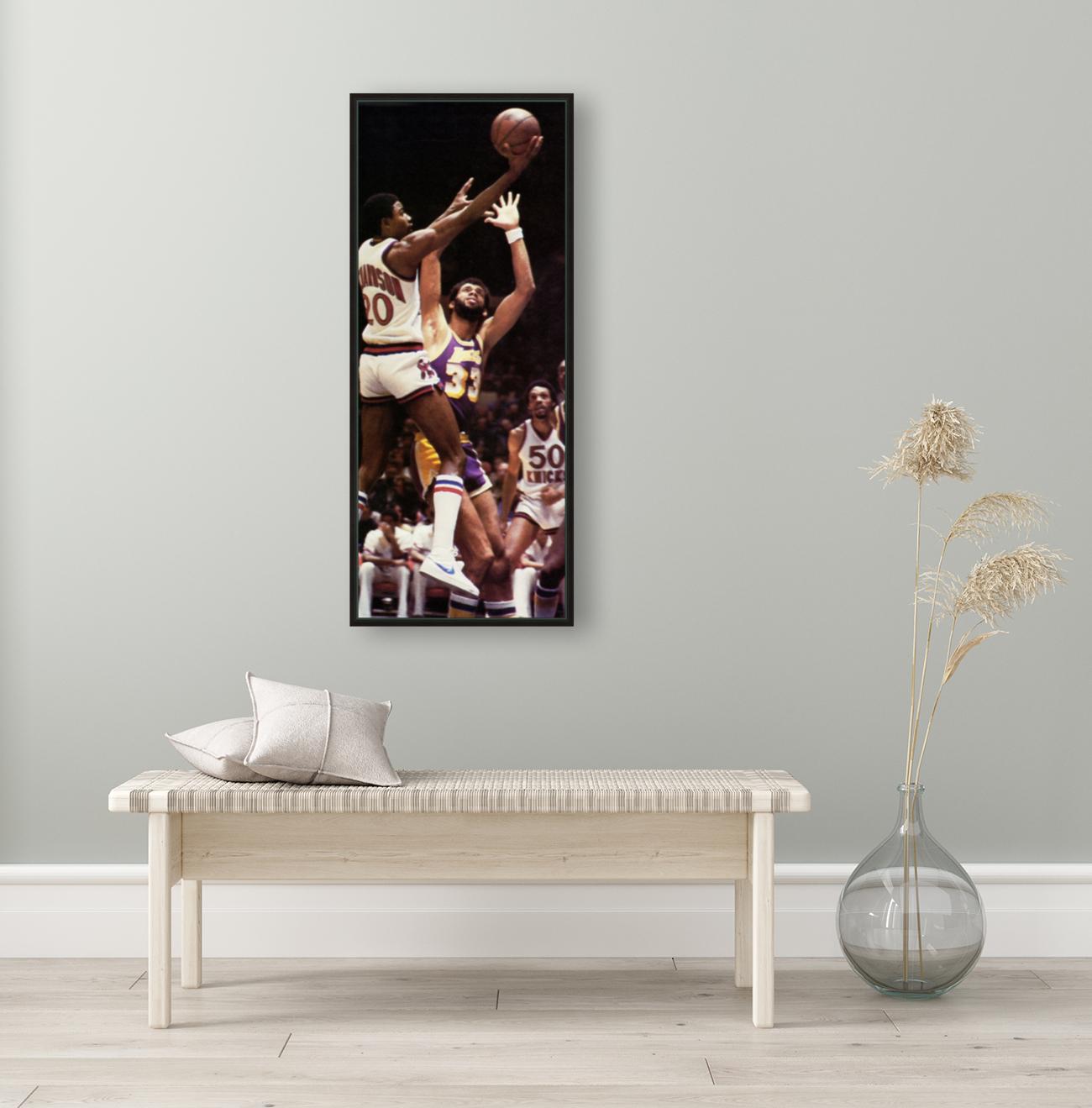 1981 Knicks vs. Lakers Art  Art