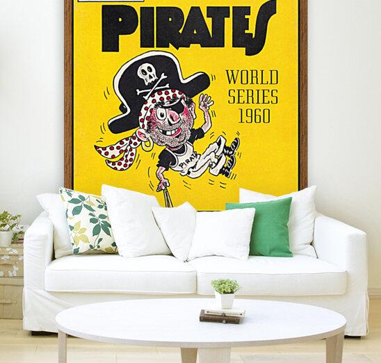 1960 Pittsburgh Pirates World Series Art  Art