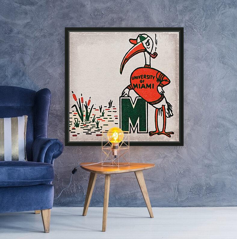 Vintage Fifties Miami Hurricane Art  Art