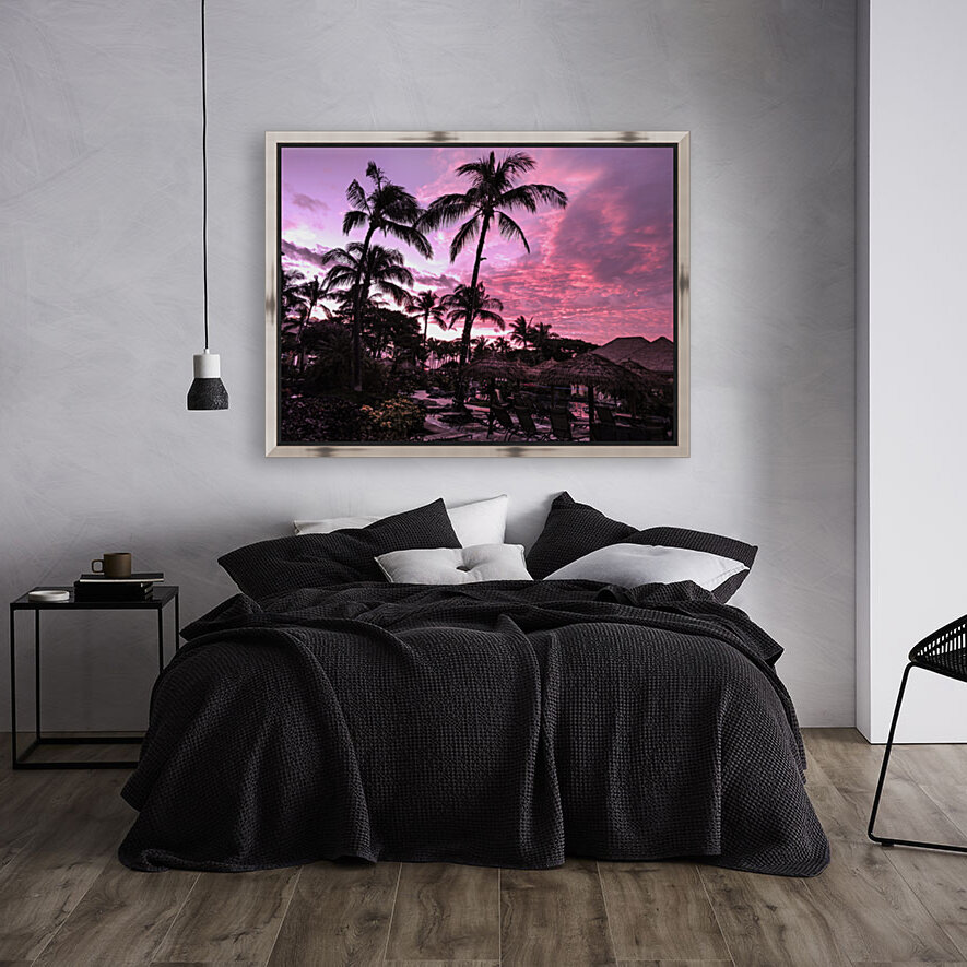 After the Beach Party - Tropical Sunset Hawaii  Art