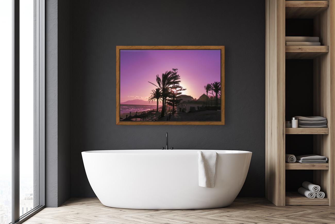 Sunset Costa Del Sol Spain  Art