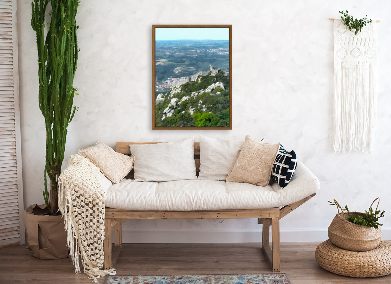 Castelo dos Mouros - Castle of the Moors - Sintra Portugal  Art