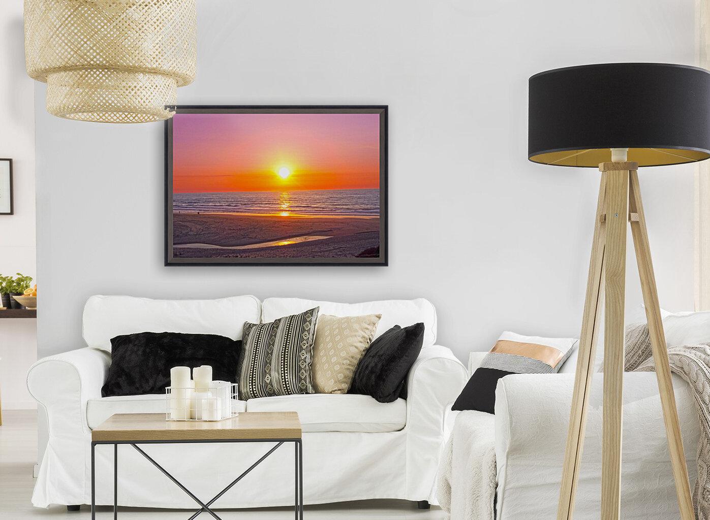 Serenity Found - Calming Atlantic Sunset in Portugal  Art