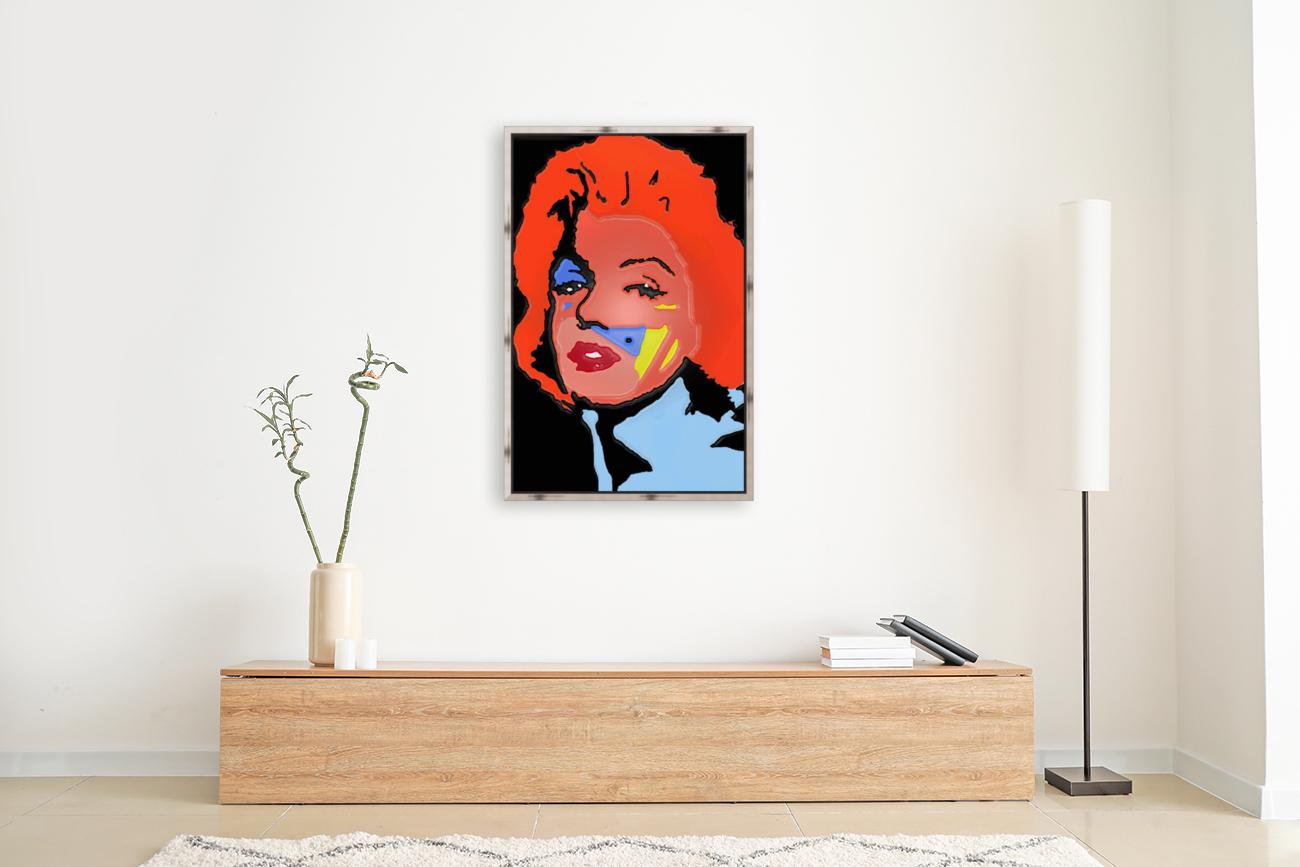 Marilyn in full color  Art