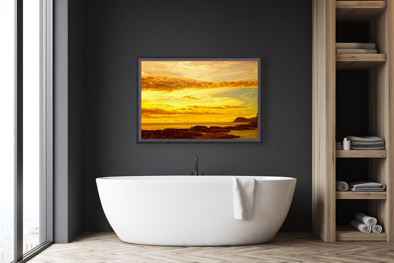 Sunset in Paradise   South Seas  Art