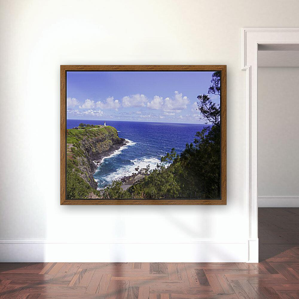 Spring at Kilauea Lighthouse on the Island of Kauai  Art