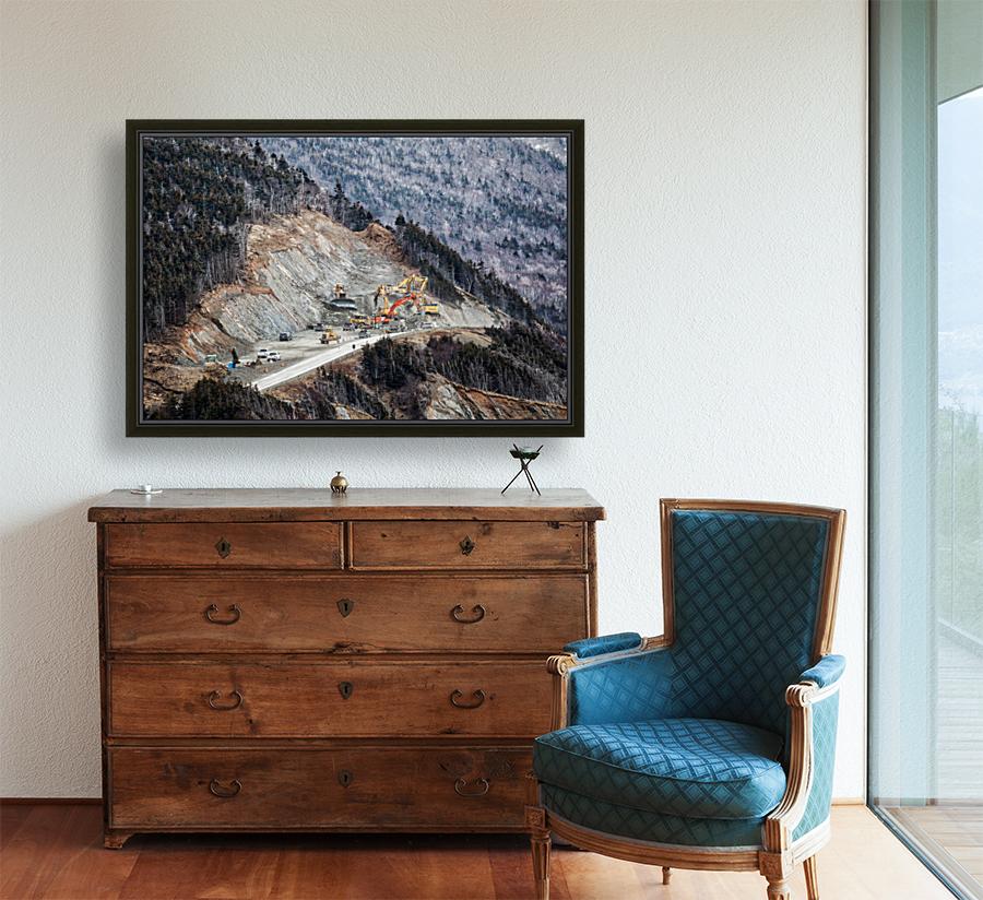 Mountain Moving  Art