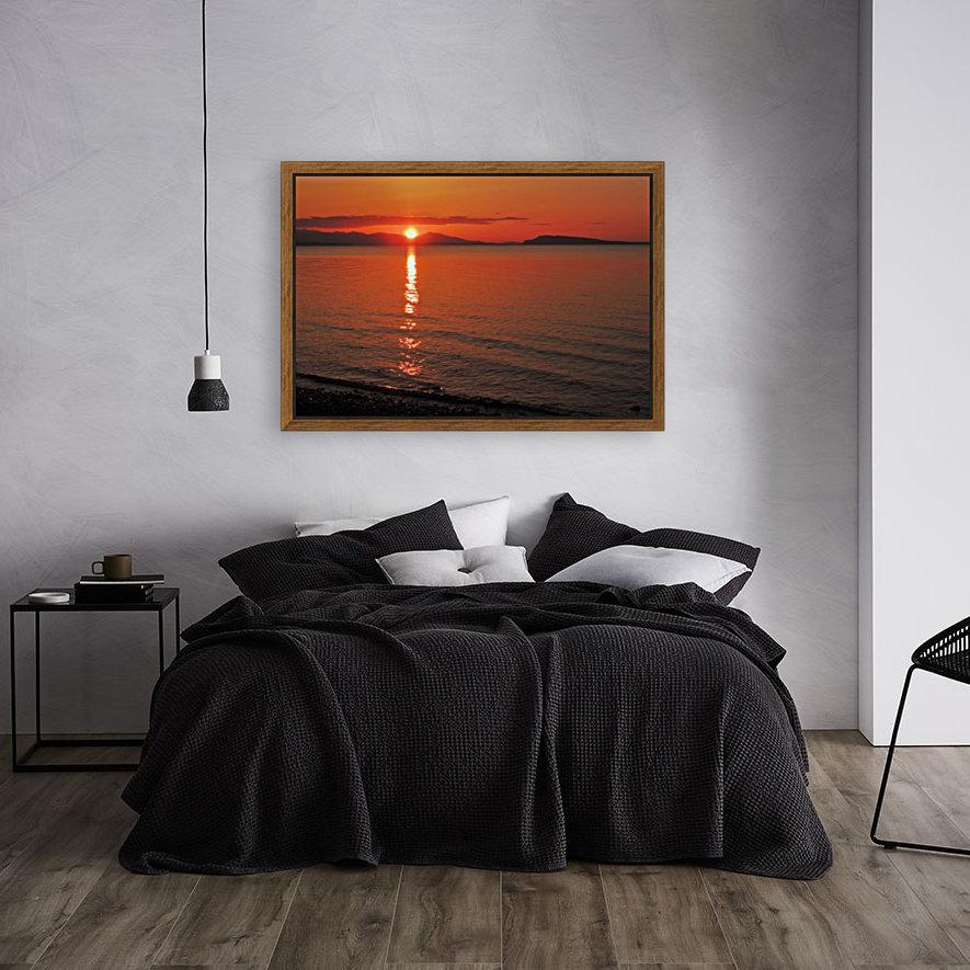 Qualicum Beach Sunset  Art
