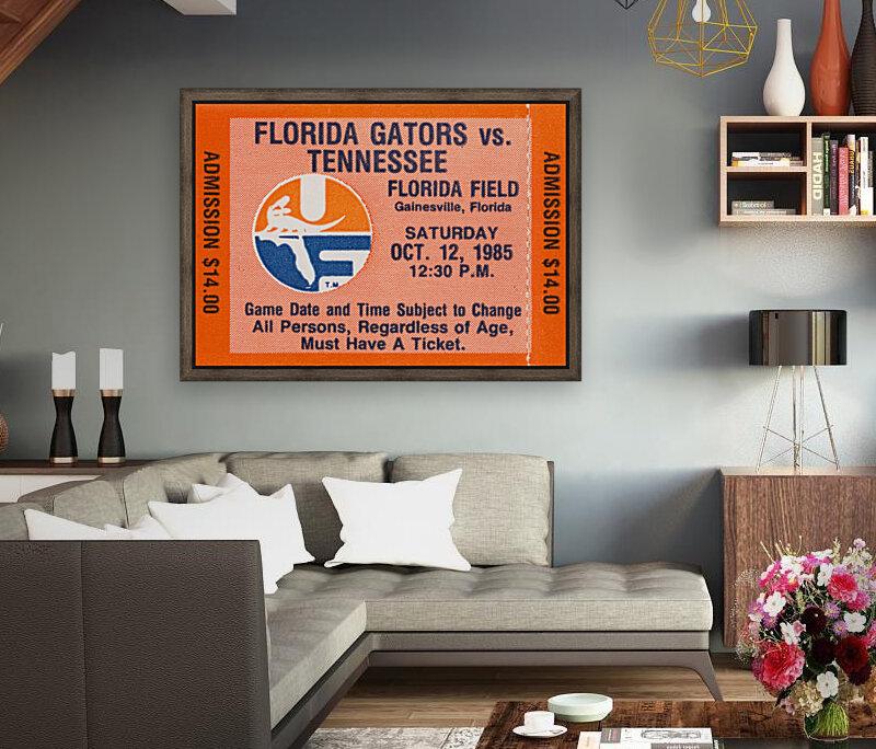 1985 Florida Gators vs. Tennessee Vols  Art