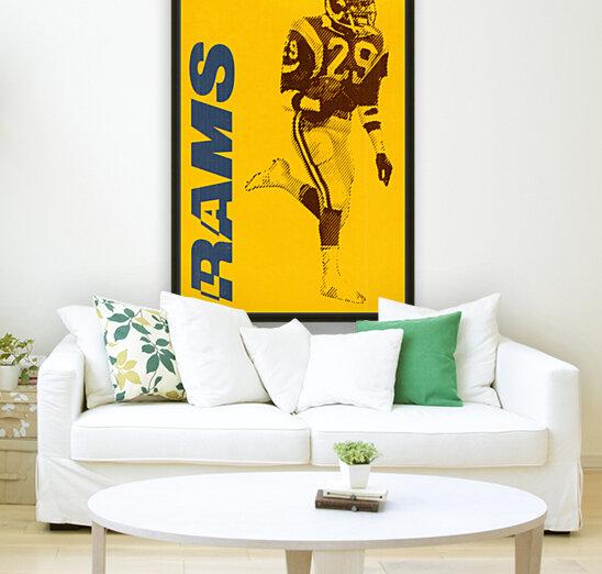 1986 LA Rams Football Art  Art