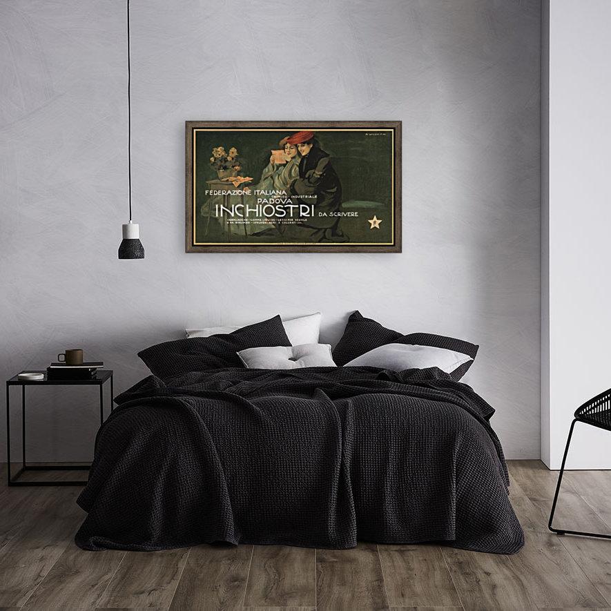 Federazione Italiana Chimico Industriale Padova Inchiostri Da Scrivere Poster  Art