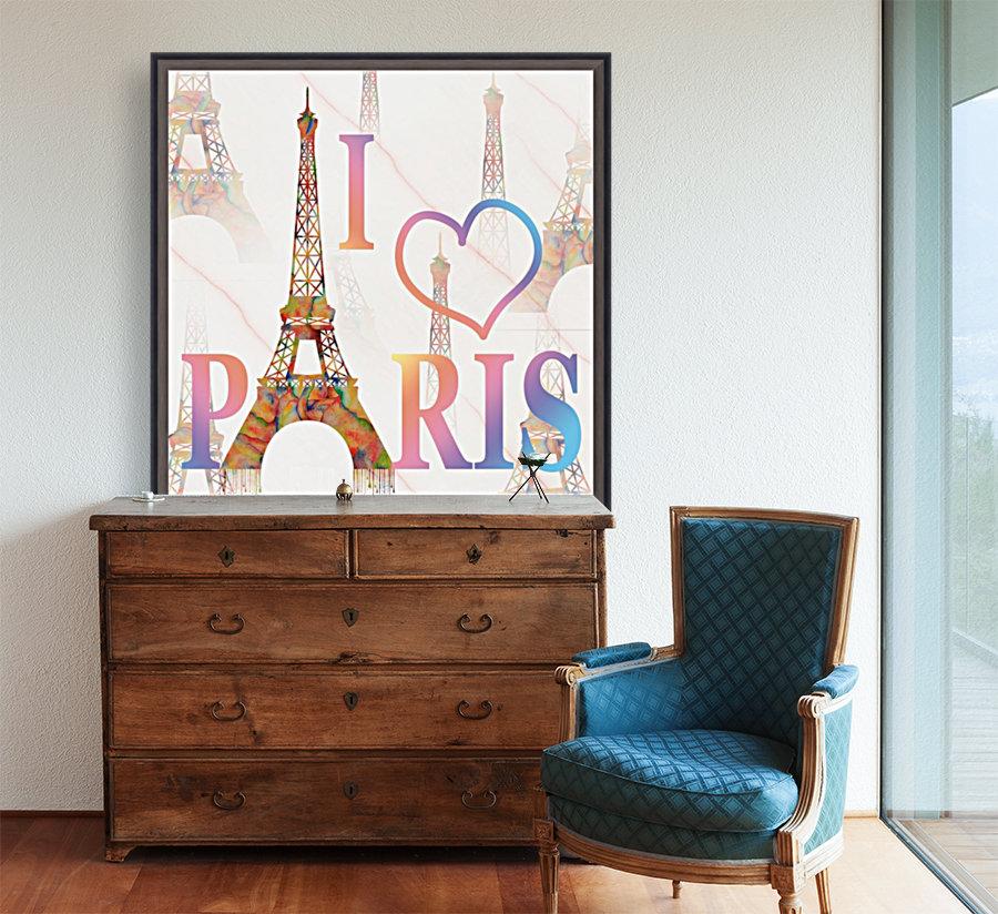 I LOVE PARIS  Art