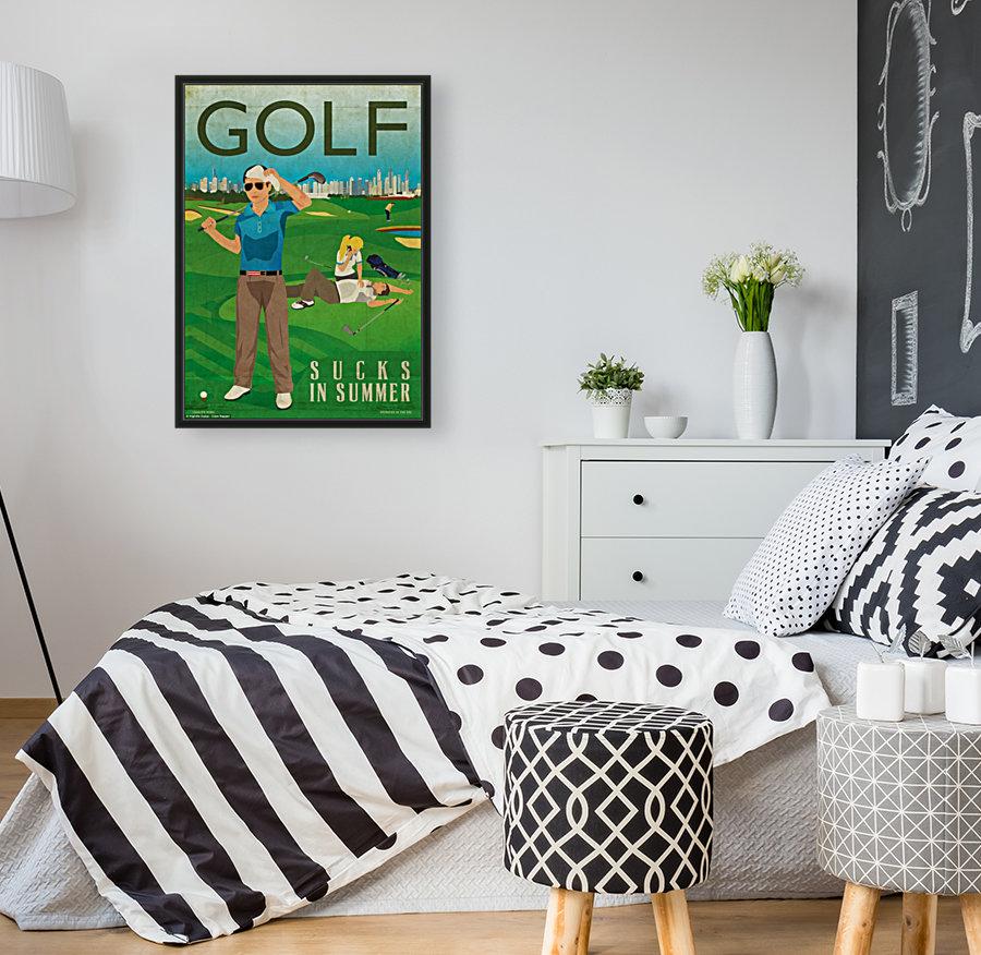 Golf sucks in summer  Art