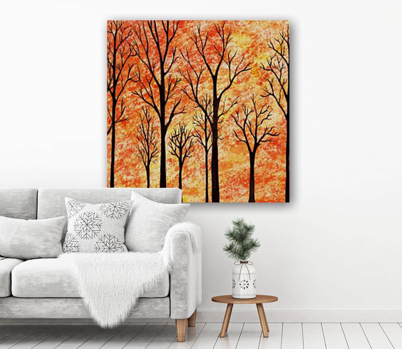 Autumn Forest Abstract   Art