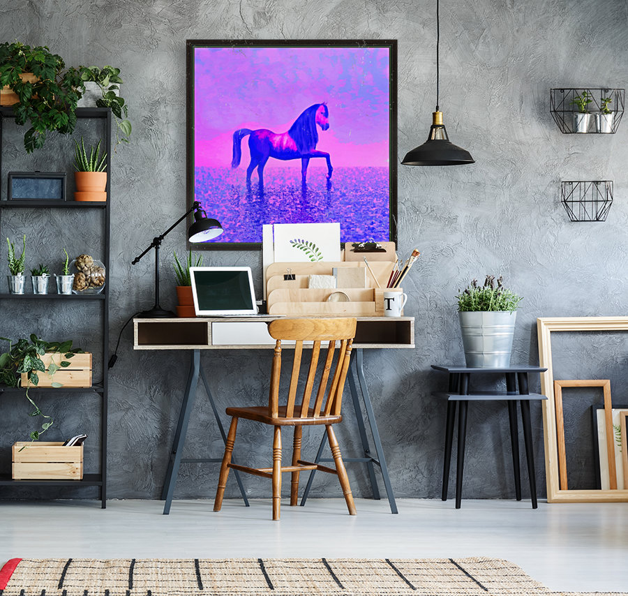 lonely horse  Art