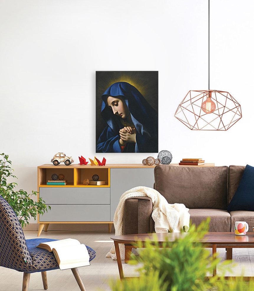 The Madonna at Prayer  Art