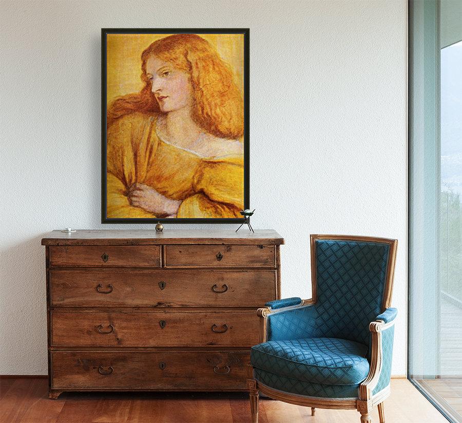 Woman in Yellow  Art