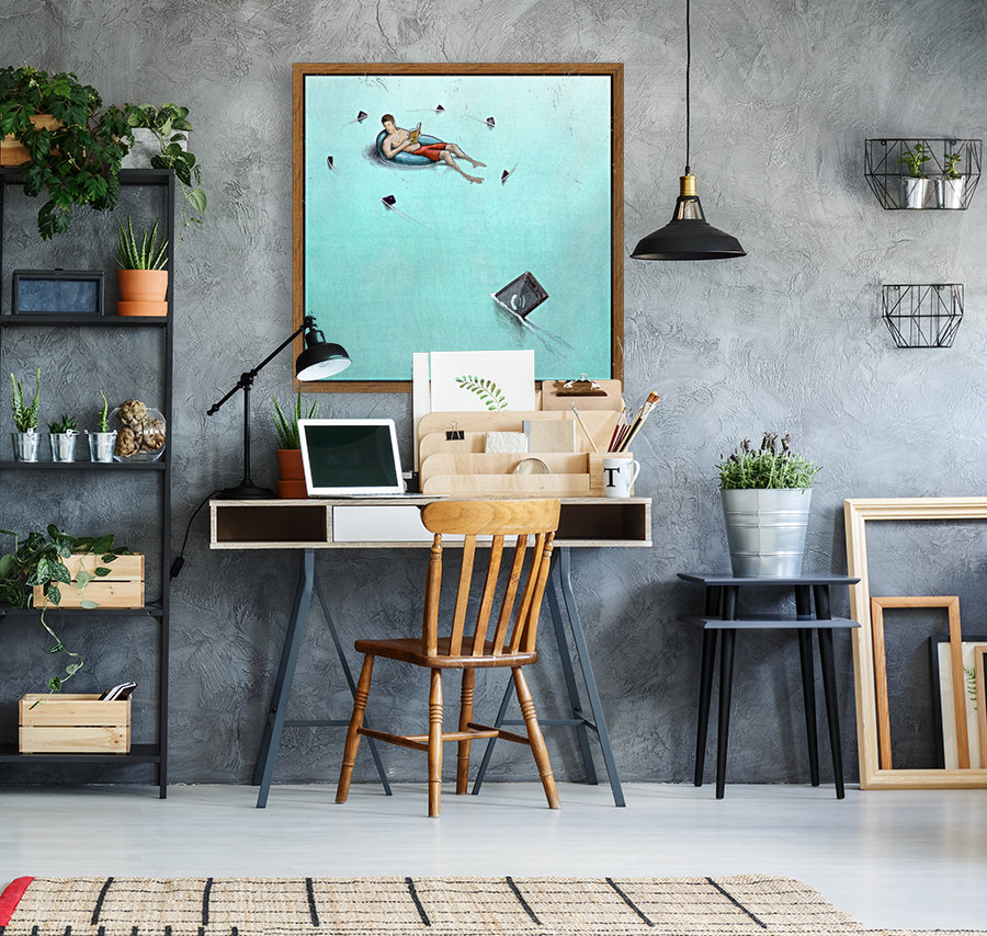 Sharks with Floating Frame