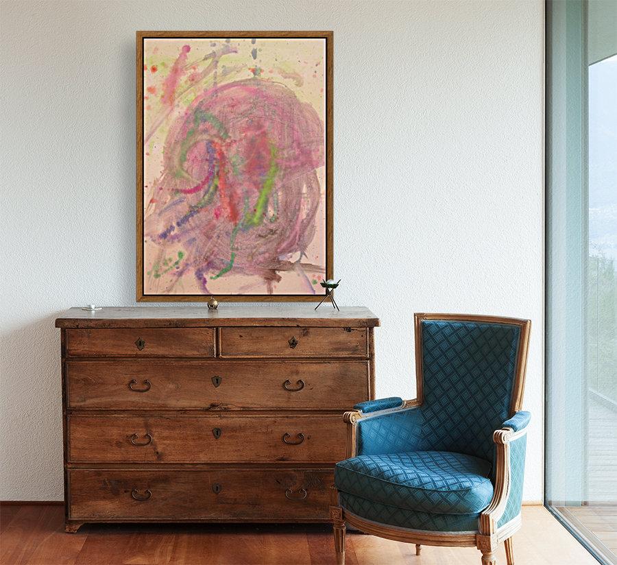 Untitled 1 (Joan Miro tribute)  Art