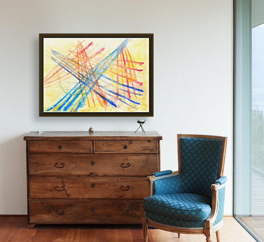 Scratches 2 (Joan Miro tribute)  Art