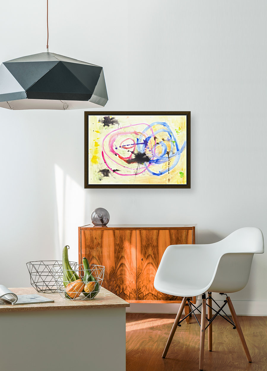 Relationship 1 (Joan Miro tribute)  Art