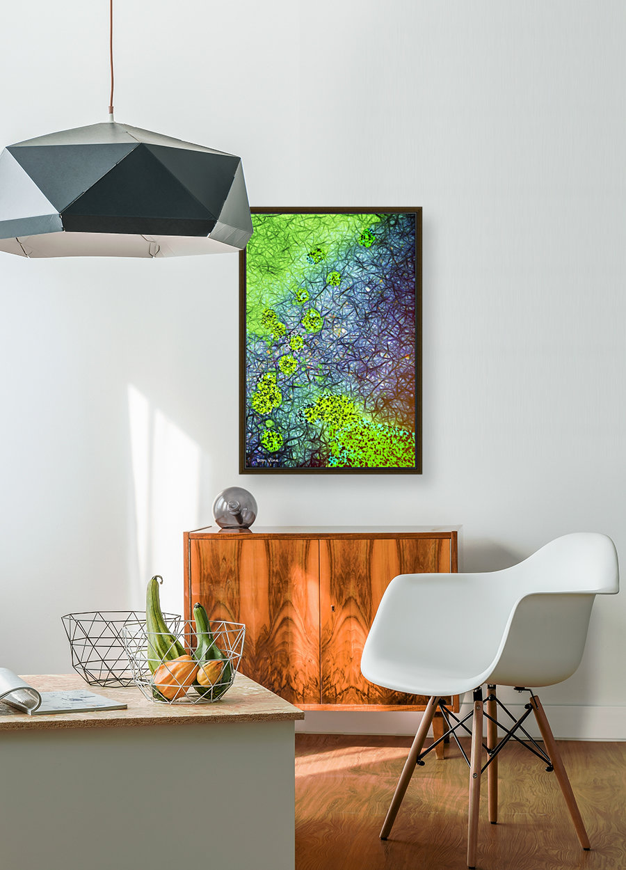 Green Paint Drops_120828_17039 HXSYV  Art