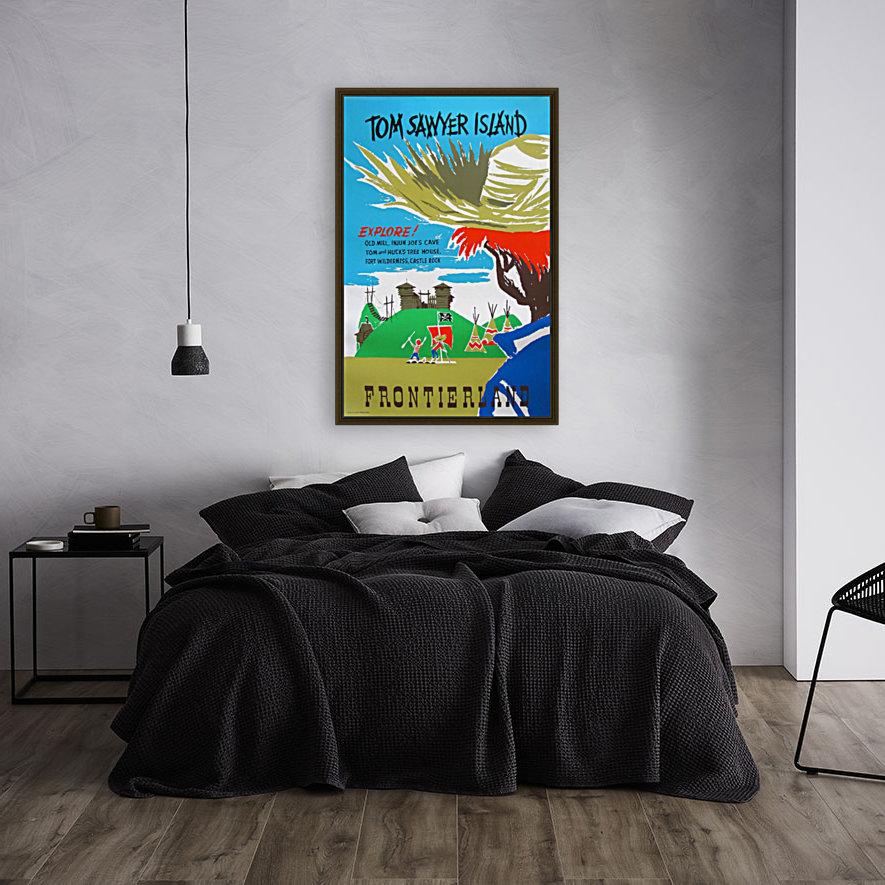 Tom Sawyer Island Poster  Art