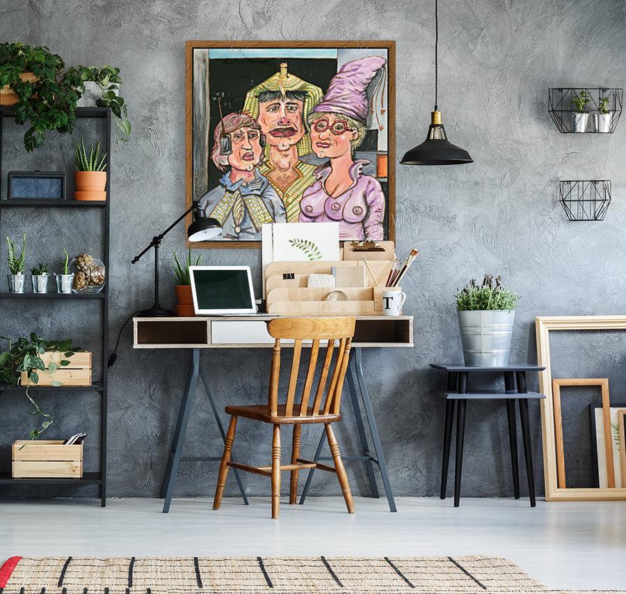 The Gluxx family  Art