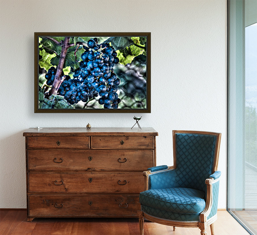Bunches of Grapes  Art