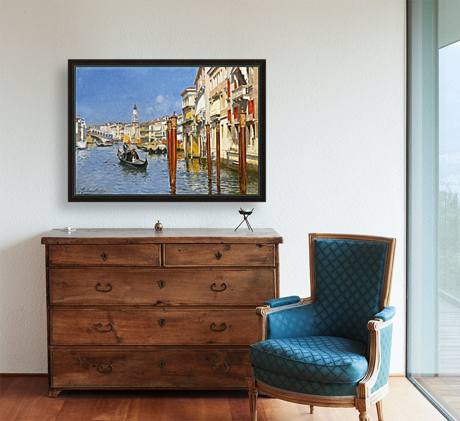 The Grand Canal in Venice  Art