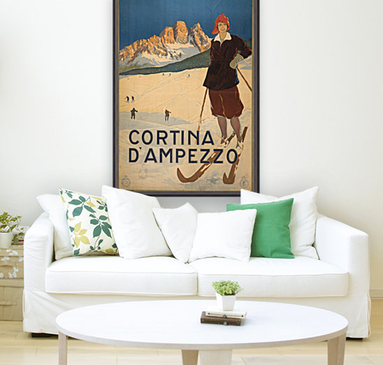 Cortina d Amprezzo with Floating Frame