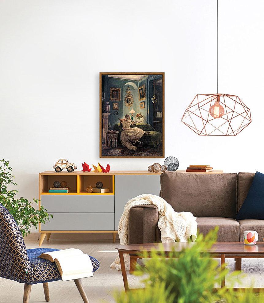 Evening at home  Art