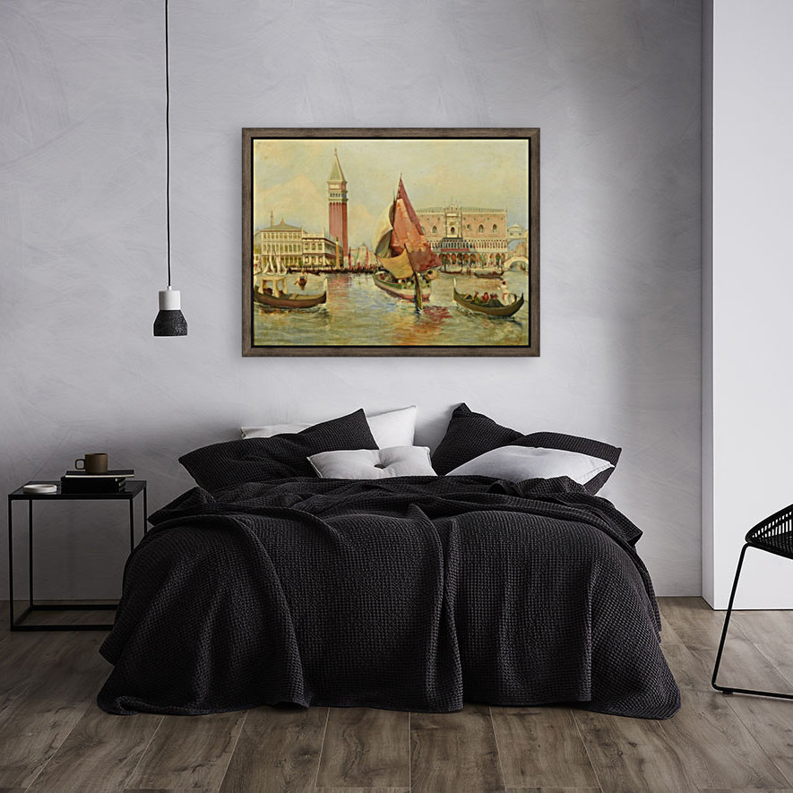Venice city view with Floating Frame