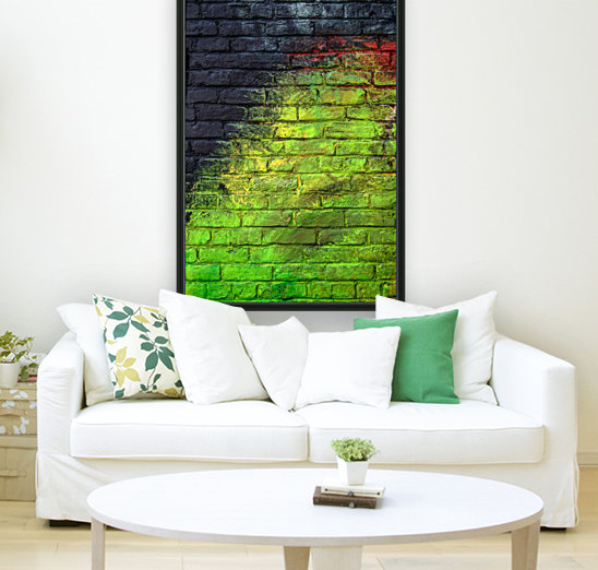 The Green Wall with Floating Frame