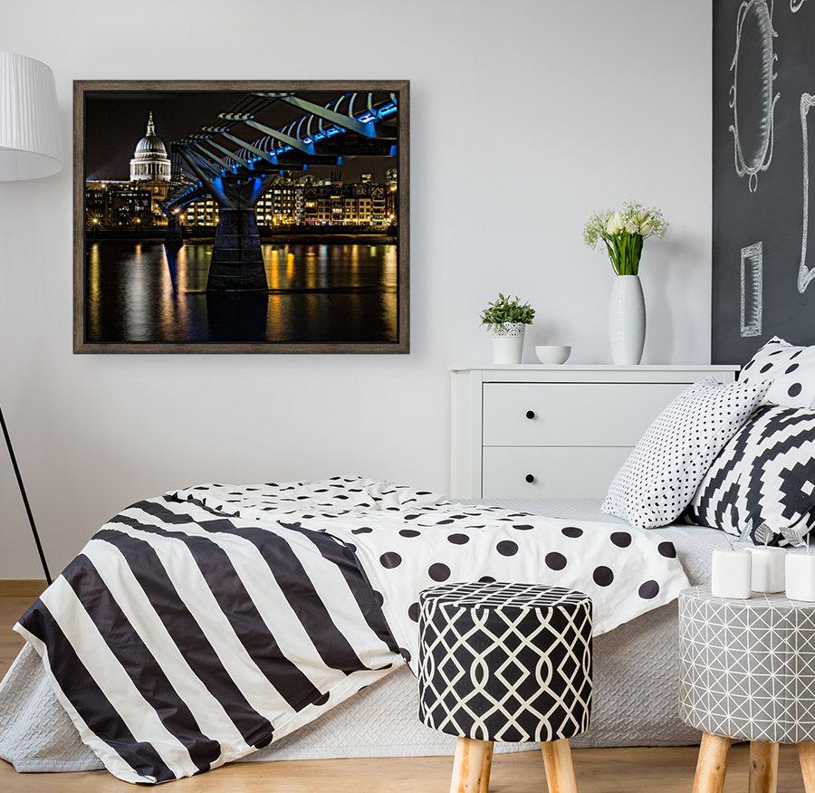 Millenium Bridge, London  Art