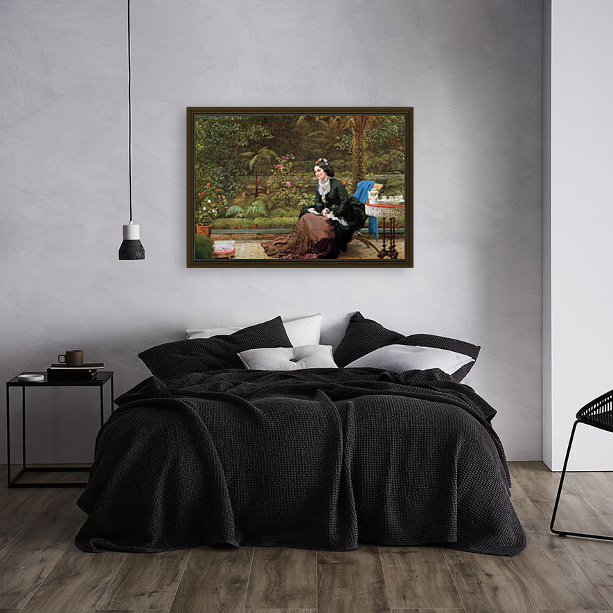 Five Clock with Floating Frame