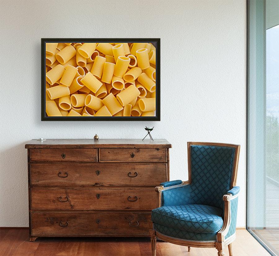 Dry pasta background   Art